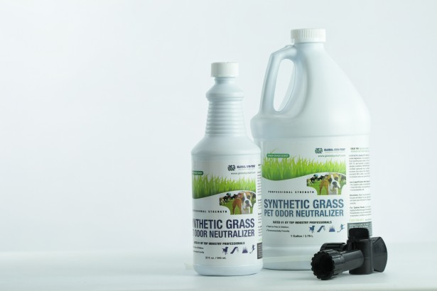 Pet Odor Neutralizer synthetic grass tools