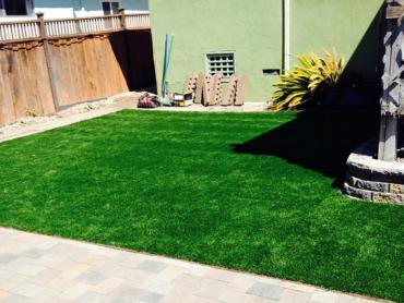 Artificial Grass Rockland Massachusetts Landscape Back