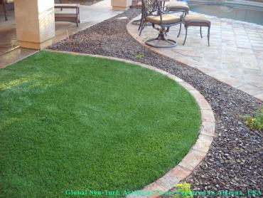 Synthetic Animal Shelter Winthrop Massachusetts Installation artificial grass